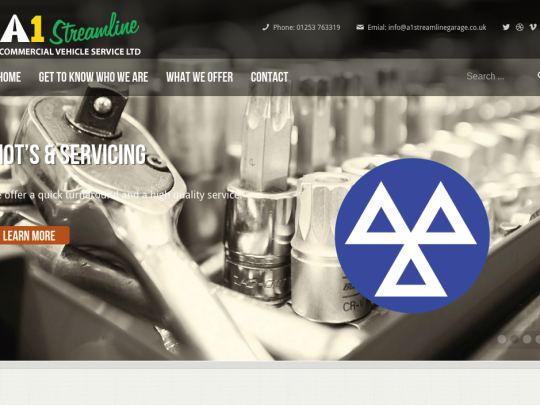 A1-Streamline-Garage-Web-Design-by-Acceler8-Media
