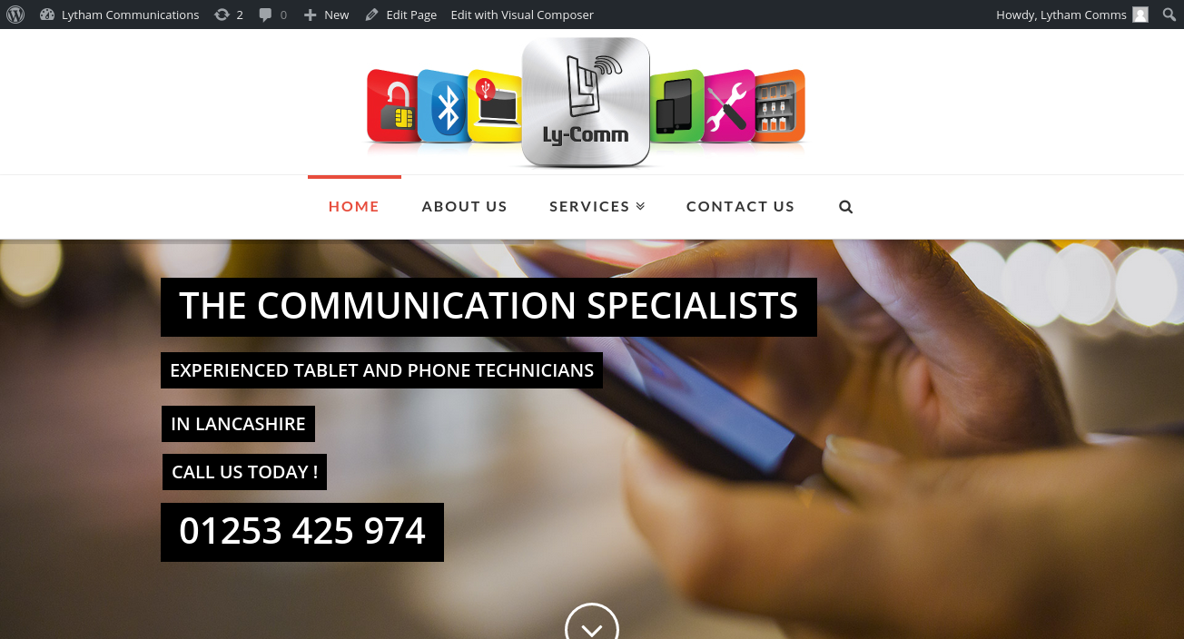 lytham-communications-web-design-by-acceler8-media